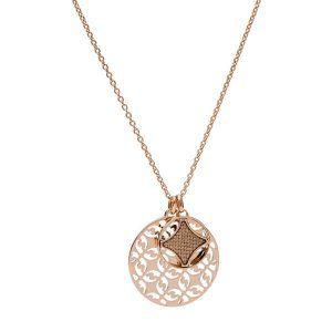 Collar Mujer Acero dorado Rosé FOSSIL JewelryJF03197791