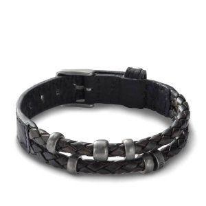 Pulsera hombre Cuero Fossil Jewelry JF85460040